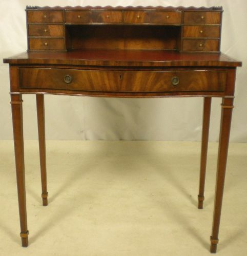 Georgian Style Ladies Mahogany Writing Desk